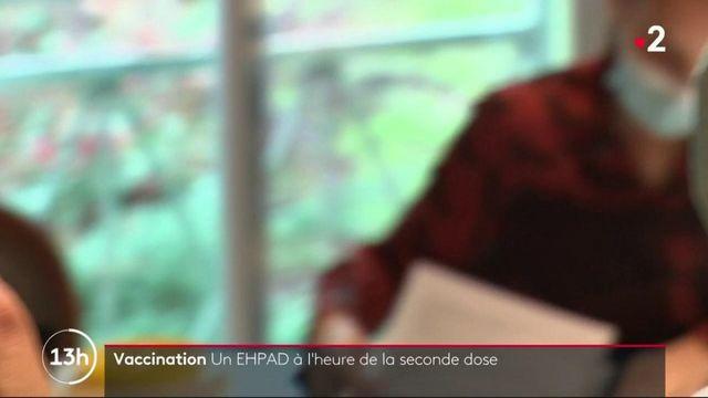 Vaccin contre le Covid-19 : la seconde dose arrive dans les Ehpad