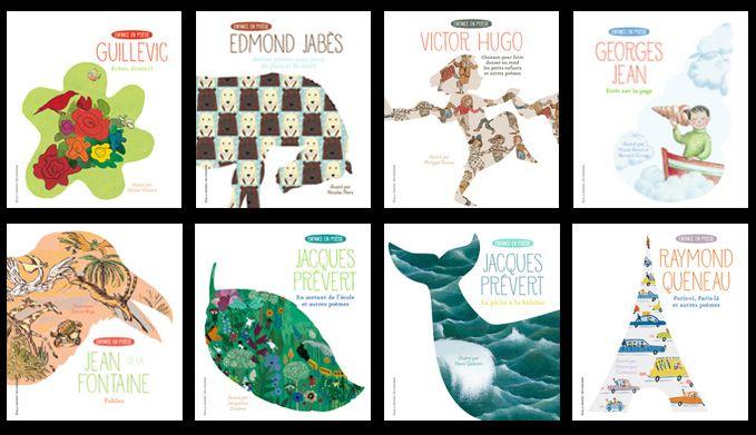 Enfance en poésie  ( Gallimard Jeunesse)