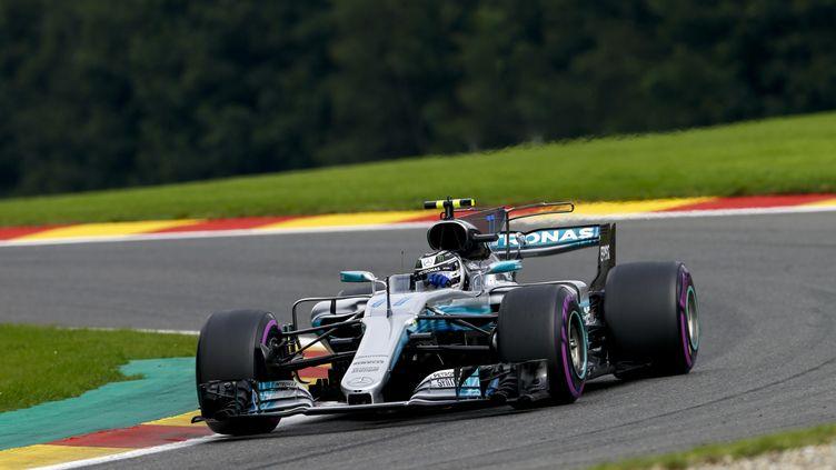 La Mercedes de Valtteri Bottas lors du GP de Belgique.  (HOCH ZWEI / HOCH ZWEI)