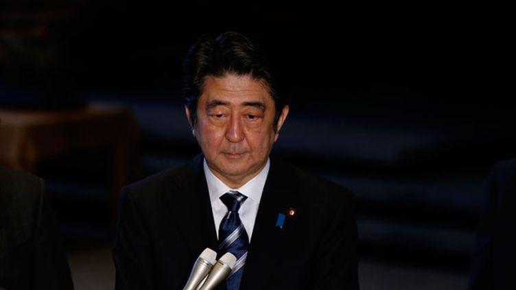 (Shinzo Abe a adressé samedi ses condoléances aux proches de l'otage et déploré que  tous les efforts du gouvernement n'aient pas permis de le sauver © REUTERS/Toru Hanai)