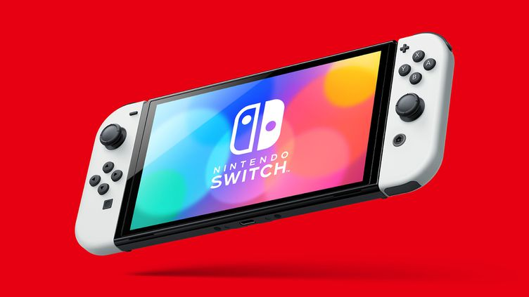 La Nintendo Switch modèle Oled disposera d'un écran de 7 pouces et de couleurs plus vives. (NINTENDO)