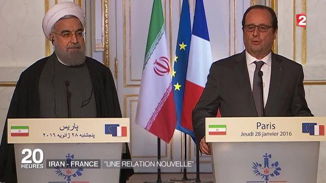 Iran : trente contrats signés aujoujourd'hui