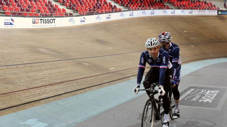 Raphaël Beaugillet et François Pervis forment un nouveau tandem et visent l'épreuve du kilomètre aux Jeux paralympiques de Tokyo.