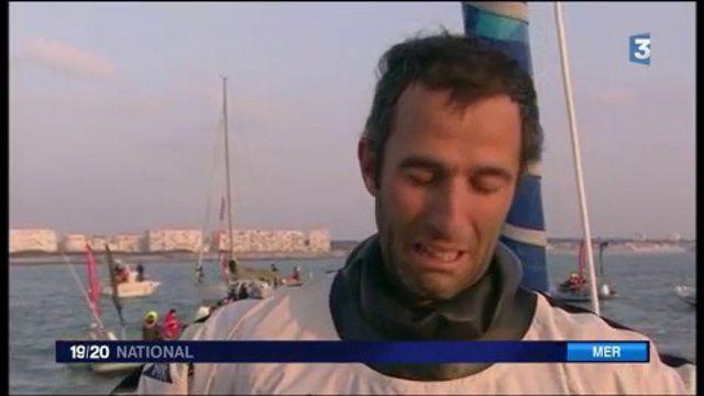 Armel Le Cléac'h remporte son premier Vendée Globe en un temps record