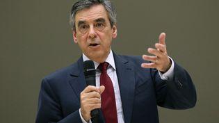 François Fillon, candidat à la primaire à droite, lors d'un meeting à Toulouse, le 25 octobre 2016. (SIMON DECLEVES / SIPA)