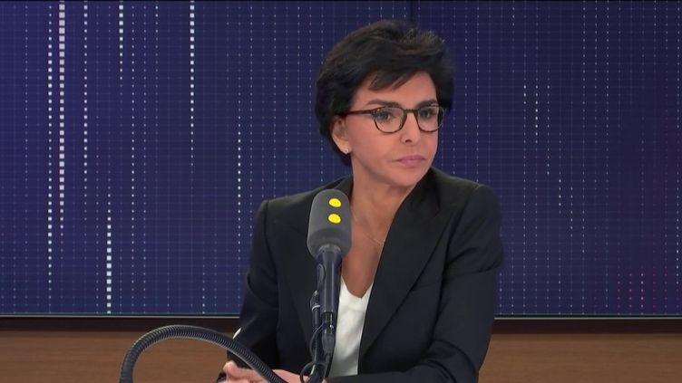 Rachida Dati, à franceinfo, le 21 février 2020. (FRANCEINFO / RADIO FRANCE)