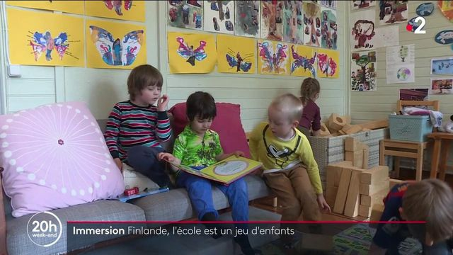 Finlande : l'école, un paradis pour les enfants ?