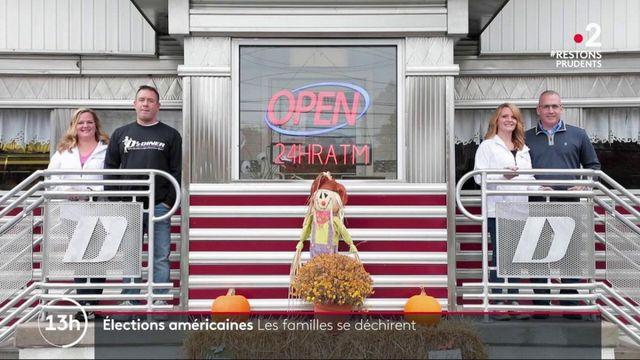 Présidentielle américaine : des familles divisées par l'élection