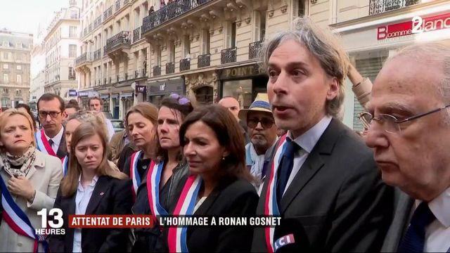 Attentat à Paris : hommage rendu à Ronan Gosnet, victime du terroriste