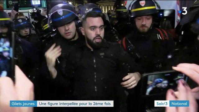 """""""Gilets jaunes"""" : le leader Eric Drouet interpellé à Paris"""