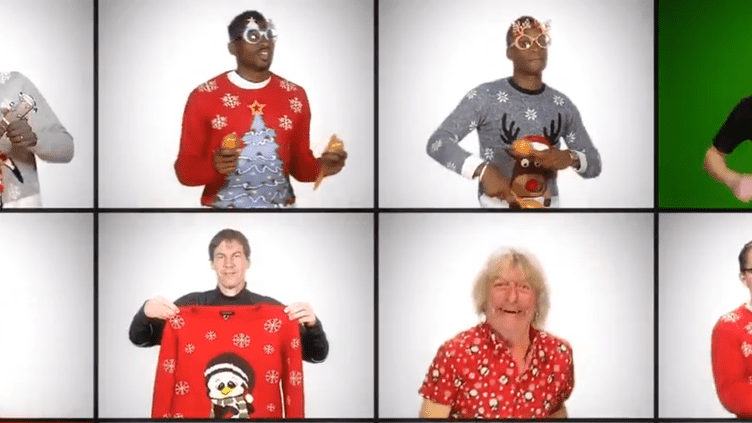 Joueurs et dirigeants de l'OM ont sorti les pulls de Noël pour souhaiter de bonnes fêtes à leurs supporters.