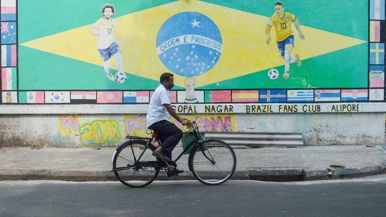 Le Brésil va accueillir la Copa America qui doit débuter le 13 juin prochain. (DEBARCHAN CHATTERJEE / NURPHOTO)
