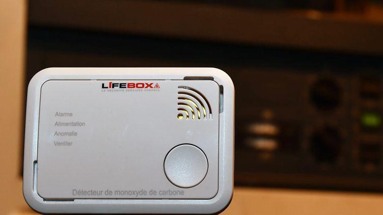 Un détecteur de monoxyde de carbone. (MAXPPP)