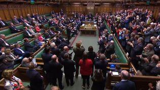 Le Parlement britannique siège à Londres, le 9 septembre 2019. (AFP)