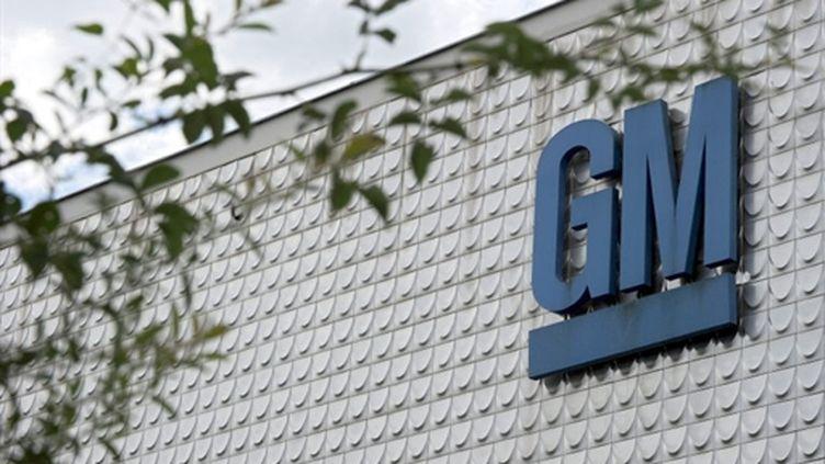 La façade du site General Motors de Strasbourg (AFP - PATRICK HERTZOG)