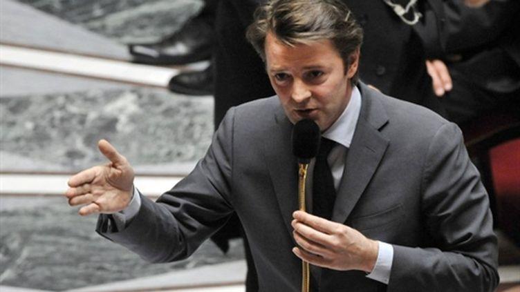 Le ministre du Budget François Baroin (12 avril 2011) (AFP / Mehdi Fedouach)