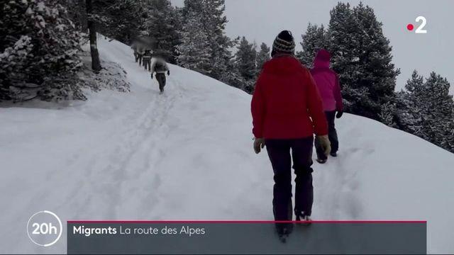 Migrants : une traversée périlleuse dans les Alpes