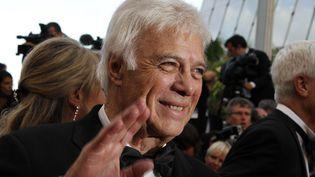 L'humoriste Guy Bedos, le 17 mai 2011 au festival de Cannes (Alpes-Maritimes). (FRANCOIS GUILLOT / AFP)