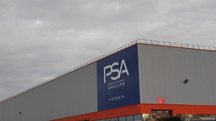 Site du groupe PSA à Hordain (Nord). (RAFAELA BIRY-VICENTE / RADIOFRANCE)