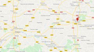 Montargis (Loiret) (CAPTURE ECRAN GOOGLE MAPS)