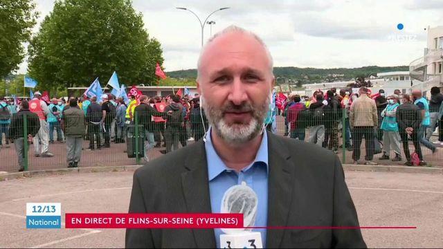 Renault : le plan d'économies prévu hérisse syndicats et salariés de l'usine de Flins-sur-Seine