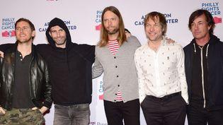 Les cinq du groupe de rock américain Maroon 5, assureront la mi-temps du Super Bowl 2019. (Lisa Lake / Getty / AFP)