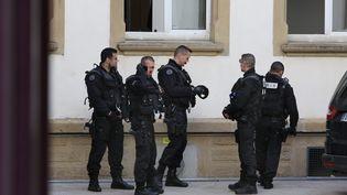 Photo d'illustration des forces de l'ordre. (MAXPPP)