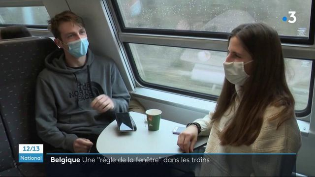 Belgique : les passagers de certains trains contraints de s'asseoir côté fenêtre pour limiter les contacts