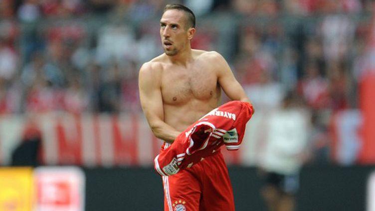 Franck Ribéry estime qu'il a autant de chances que Lionel Messi. (ANDREAS GEBERT / DPA)
