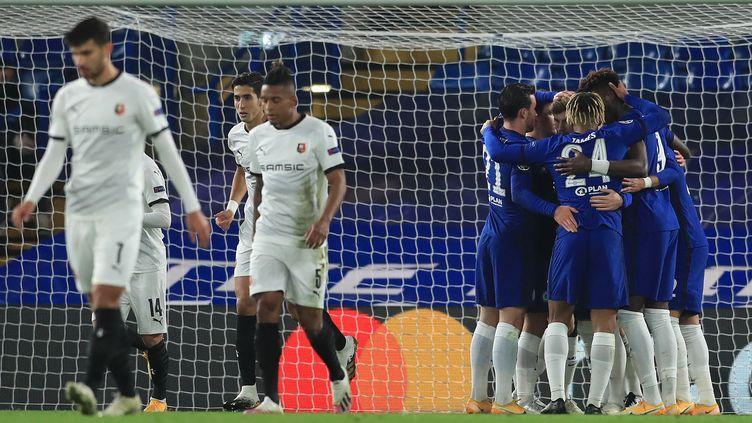 Chelsea a pris le meilleur sur Rennes (ADAM DAVY / POOL)