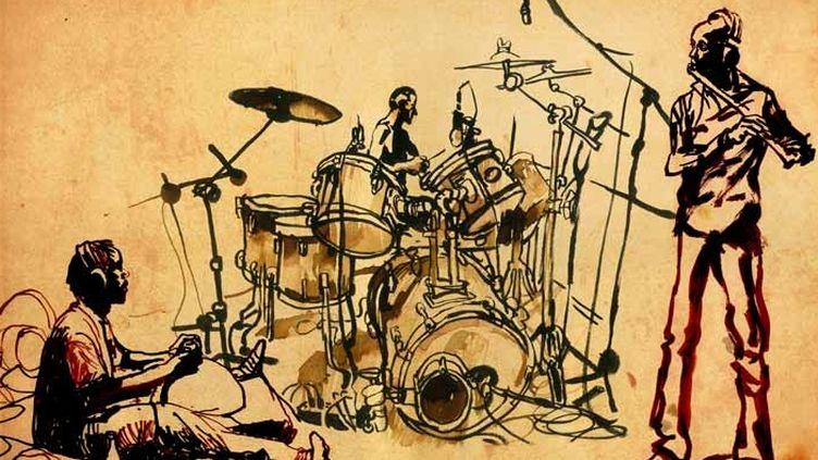 Des dessins qui racontent la musique et les rencontres  (Emmanuel Prost)