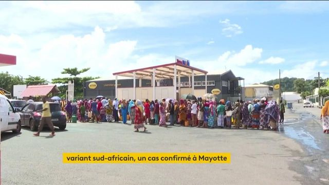 Covid-19 : le variant sud-africain à Mayotte