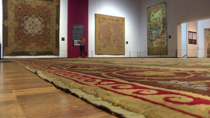 ExpositionSallandrouze de Lamornaix, histoire d'une manufacture d'exception à la Cité internationale de la tapisserie à Aubusson. (C. Rongere / France Télévisions)