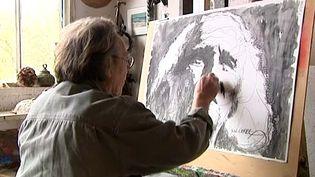 José Corréa peint toujours Ferré  (France 3 / Culturebox)