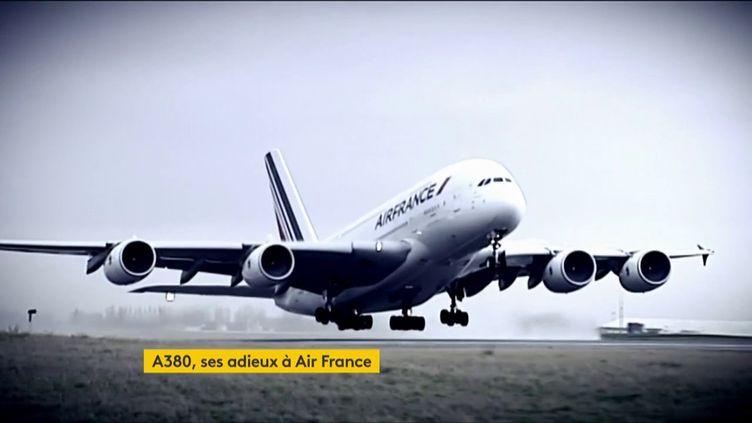 L'A380 d'Airbus a fait son dernier vol, vendredi 26 juin. La compagnie arrête prématurément la commercialisation de son avion, qui était une prouesse technologique au moment de son lancement, en 2009. (FRANCEINFO)