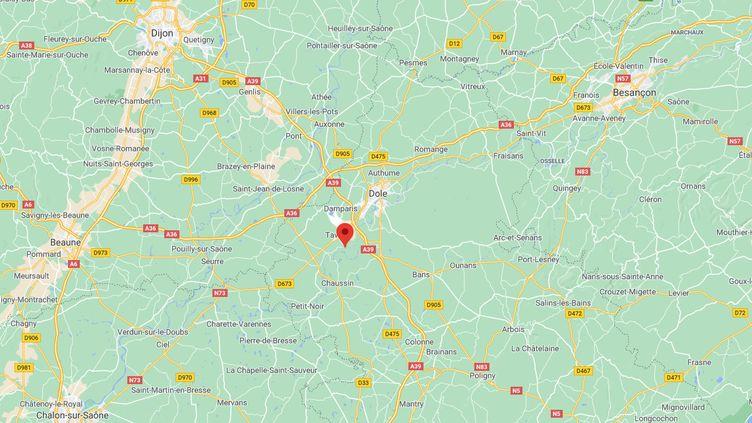 Molay (Jura). (GOOGLE MAPS)