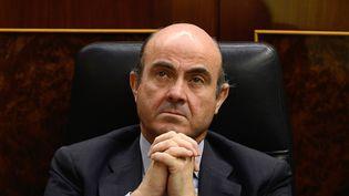 Le ministre de l'Economie espagnol, Luis de Guindos, le 13 juin2012. (DANI POZO / AFP)
