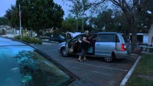 États-Unis : les américains de plus en plus nombreux à dormir dans leur voiture (FRANCE 2)