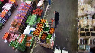 Le marché de Rungis, près de Paris, en décembre 2012. (MARTIN BUREAU / AFP)