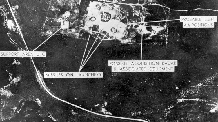 Photos des installations militaires russes déployées sur l'île de Cuba, le 22 octobre 1962. (- / HO)