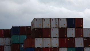 Le port de Newark dans le New Jersey, le 29 janvier 2016. (SPENCER PLATT / GETTY IMAGES NORTH AMERICA / AFP)