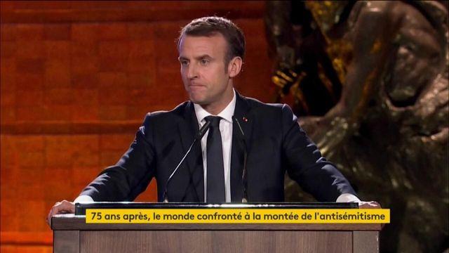 Libération d'Auschwitz :  Emmanuel Macron a pris part aux cérémonies à Jérusalem