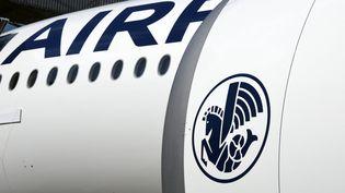 Le logo Air France sur un avion de ligne. Photo d'illustration. (AFP)