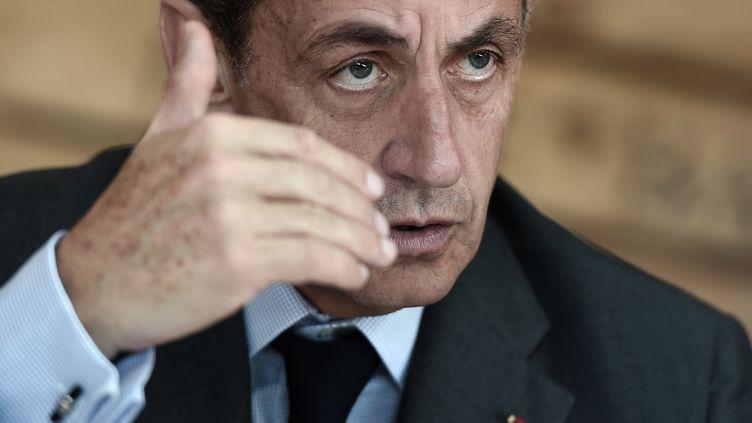 (Nicolas Sarkozy attaque la gauche au lendemain de l'attentat de Saint-Etienne-du-Rouvray  © FREDERICK FLORIN / AFP)