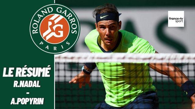 Les meilleurs moments du match Rafael Nadal - Alexei Popyrin