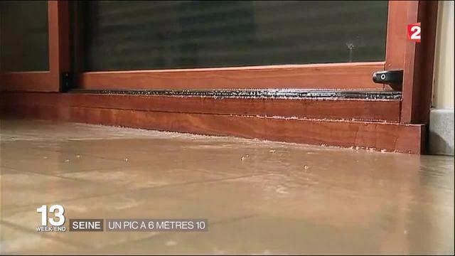 Seine : un pic de crue à 6,10 mètres