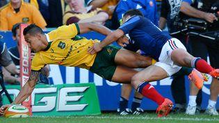 L'Australien Israel Folau va retrouver le XV de France (PETER PARKS / AFP)