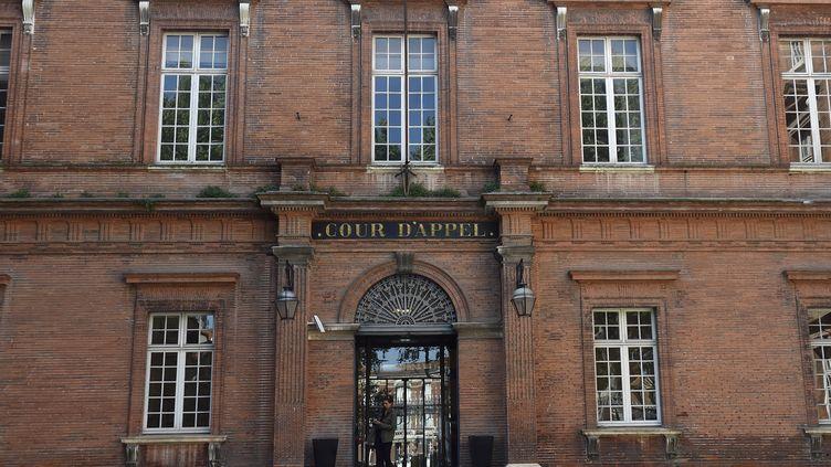 La façade de la cour d'appel de Toulouse (Haute-Garonne). (PASCAL PAVANI / AFP)