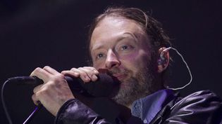Thom Yorke et Radiohead au Bonnaroo Festival (USA), juin 2012.  (Dave Martin/AP/SIPA)