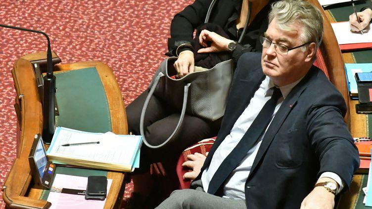 Le haut-commissaire aux Retraites, Jean-Paul Delevoye, lors d'une session de questions au gouvernement, le 11 décembre 2019. (DANIEL PIER / NURPHOTO / AFP)
